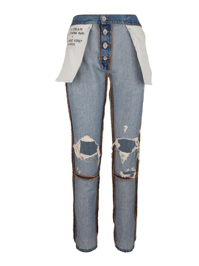 Ben Taverniti Unravel Project Ben Taverniti Unravle Project Jeans - Blue