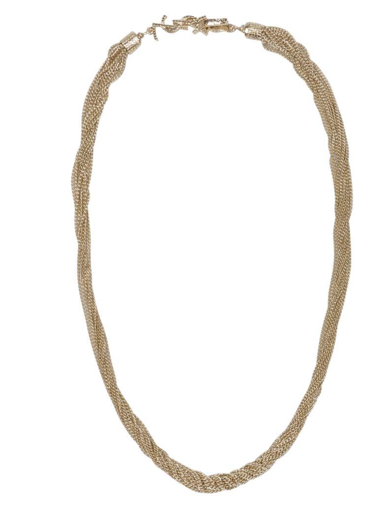 Saint Laurent Loulou Twisted Necklace - Basic