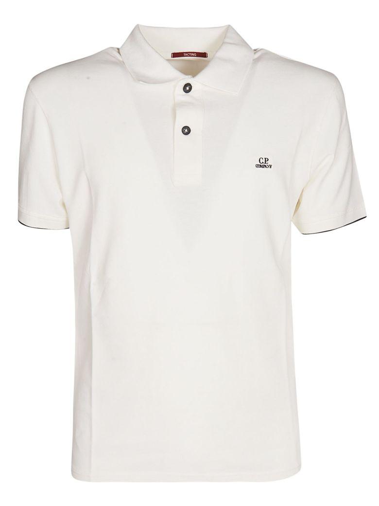 C.P. Company Logo Polo Shirt - Bianco