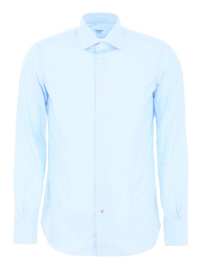Mazzarelli Celeste Shirt - FIL A FIL CELESTE (Light blue)