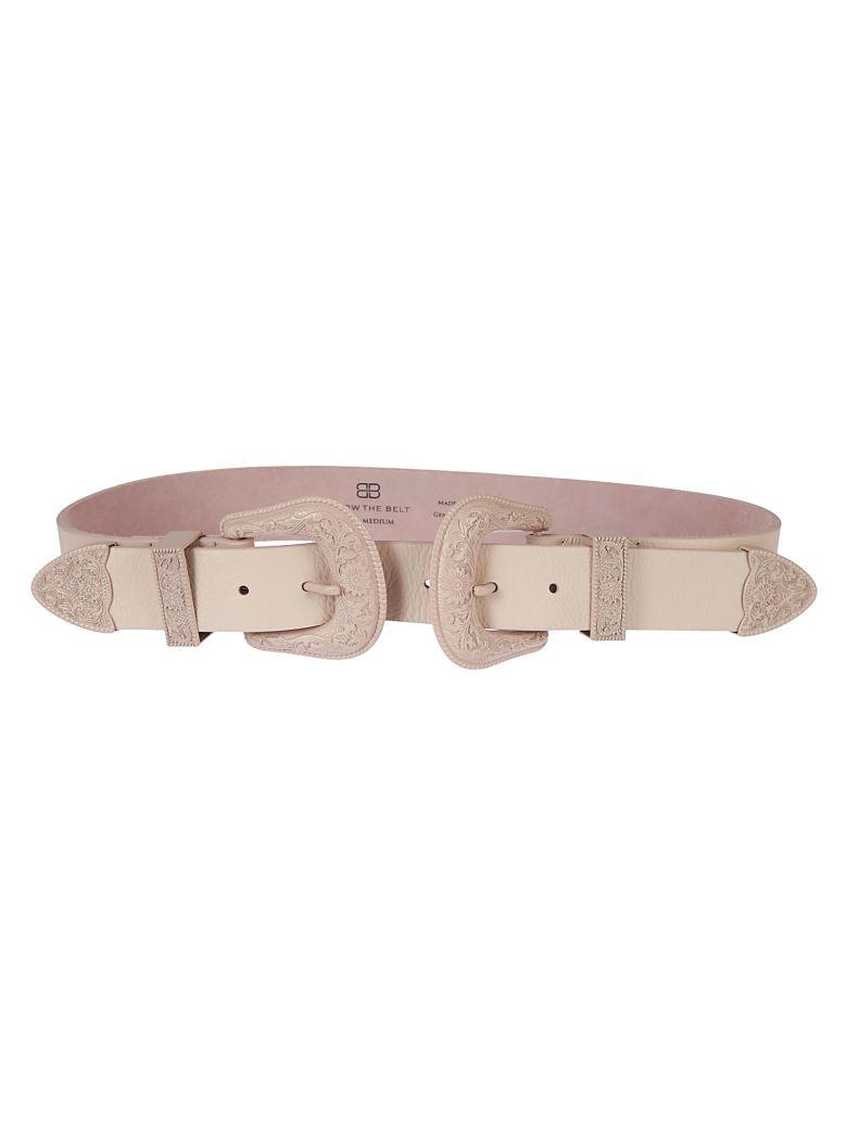 B-Low the Belt Double Buckle Belt - Total Pink
