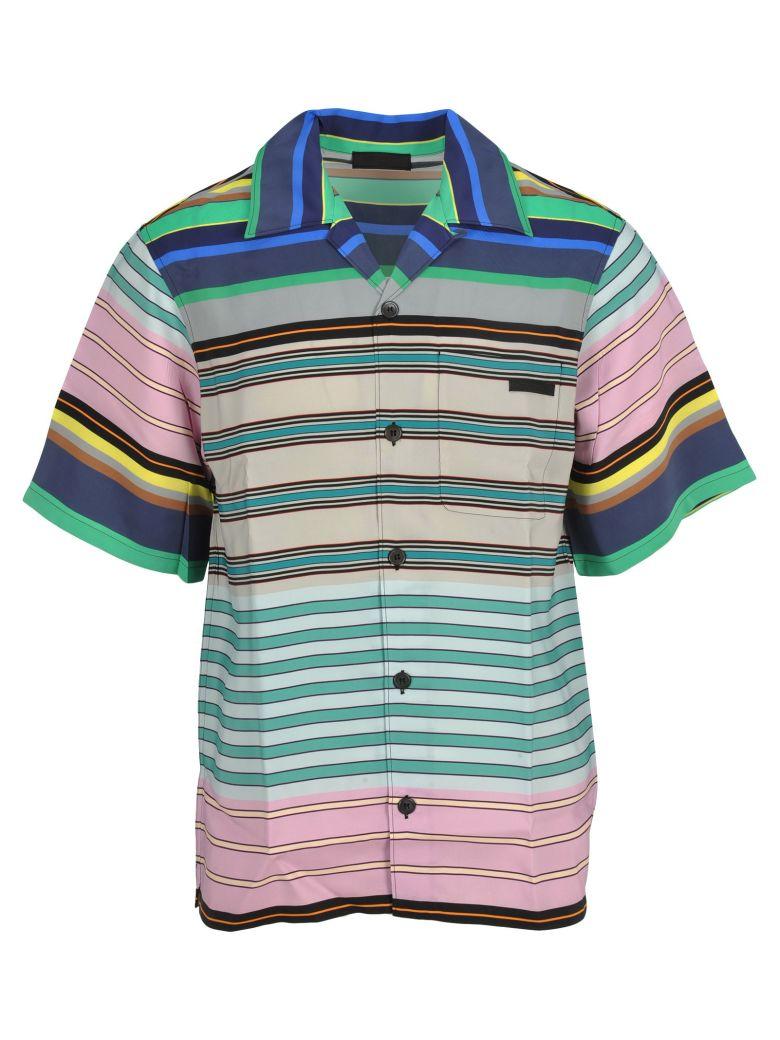 Prada Prada Striped Shirt - MULTICOLOURED STRIPES