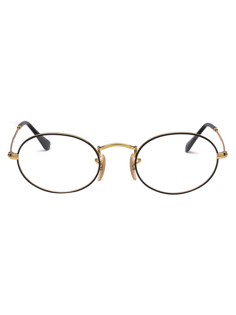Ray-Ban Eyewear - Gold On Top Black