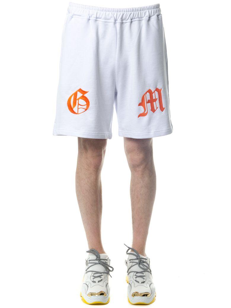 OMC White Cotton Shorts - White