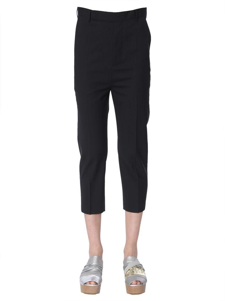 Rick Owens Crop Pants - NERO