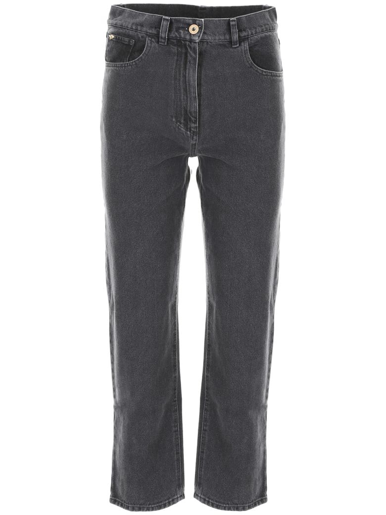 Nanushka Rupa Jeans - BLACK WASHED|Nero