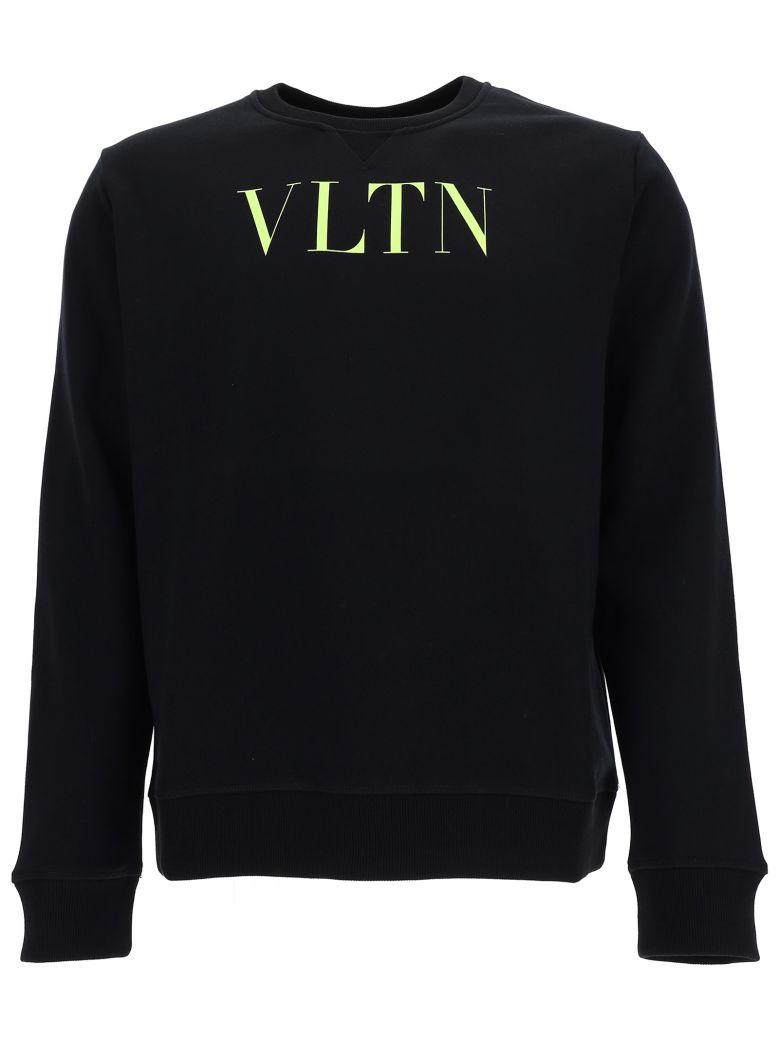 Valentino Sweatshirt - Nero/vltn yellow fluo