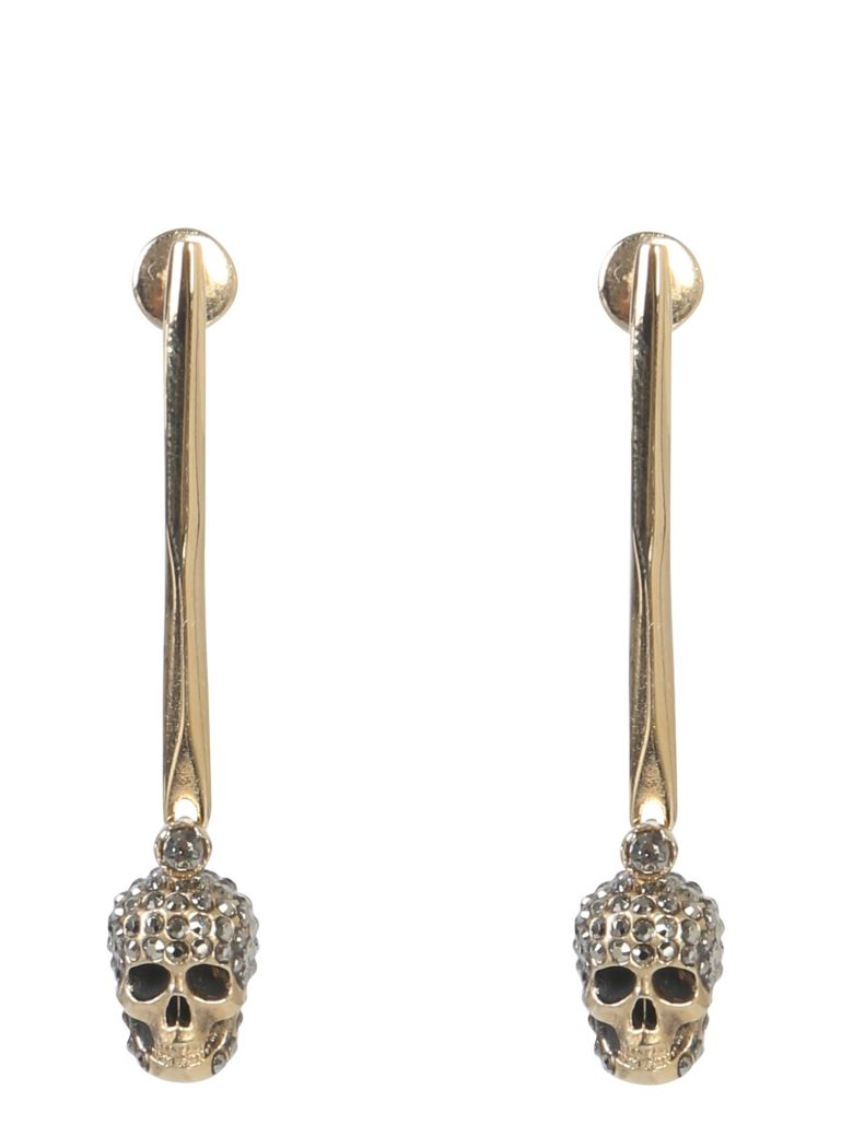 Alexander McQueen Skull Earrings - ORO