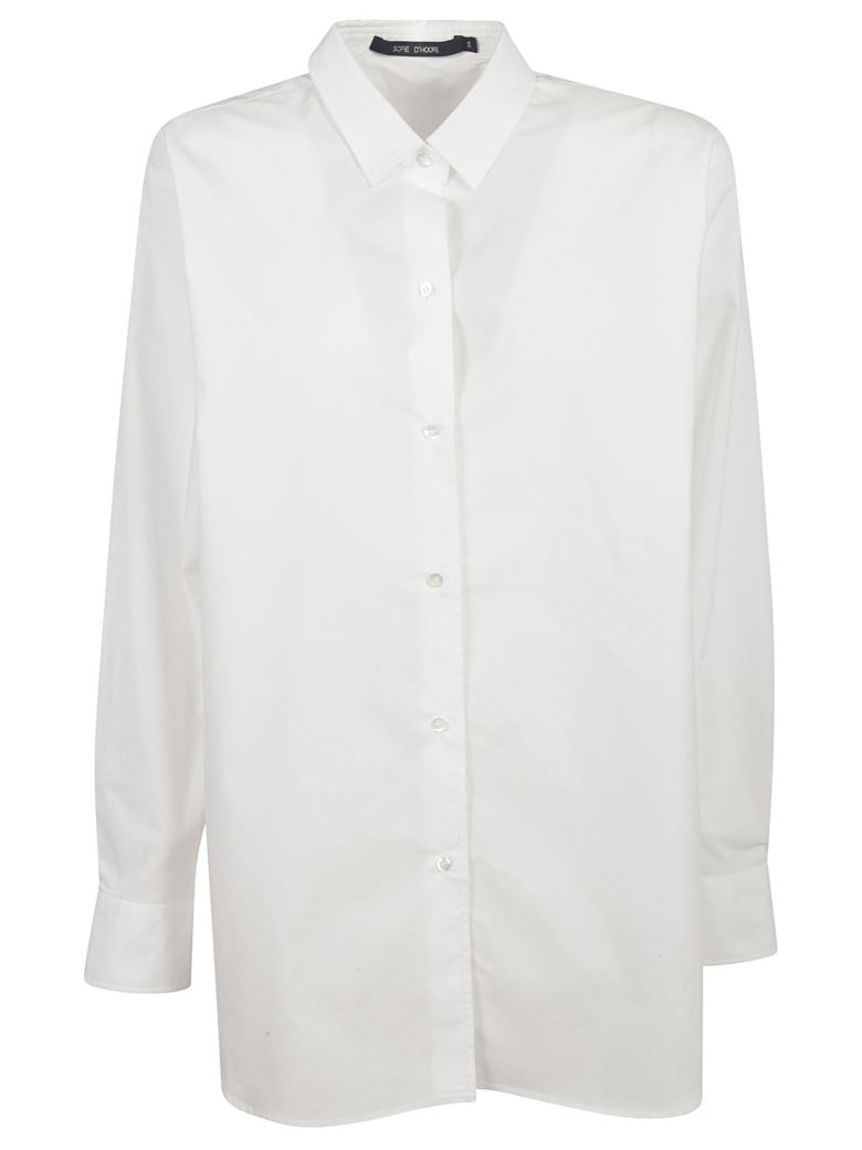 Sofie d'Hoore Long Length Buttoned Shirt - White