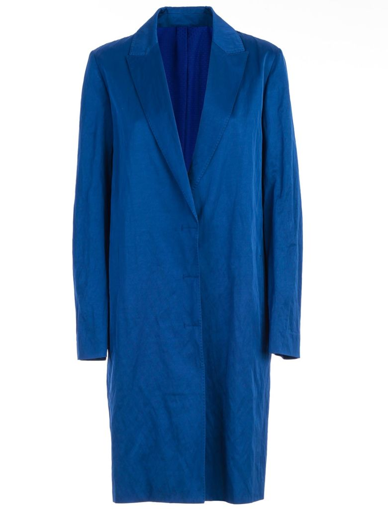 Haider Ackermann Single Breasted Coat - Royal Blue