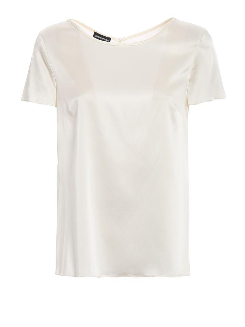 Emporio Armani Minimal T-shirt - Bianco Seta