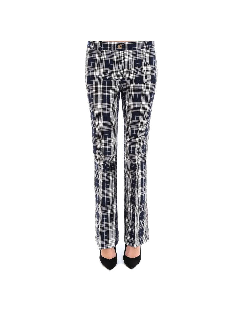 Tommy Hilfiger 70 Flared Long Taped Pant Pants - Blue