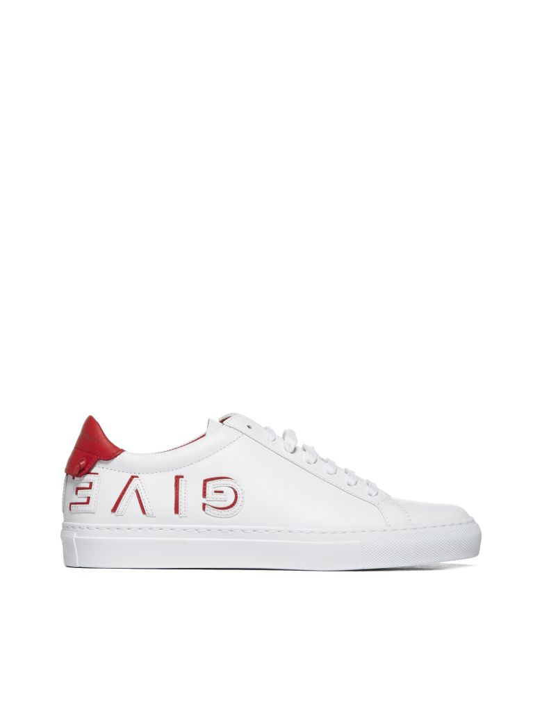 Givenchy Urban Street Low-top Sneakers - Bianco rosso