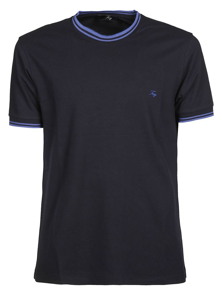 Fay Logo Embroidered T-shirt - Basic