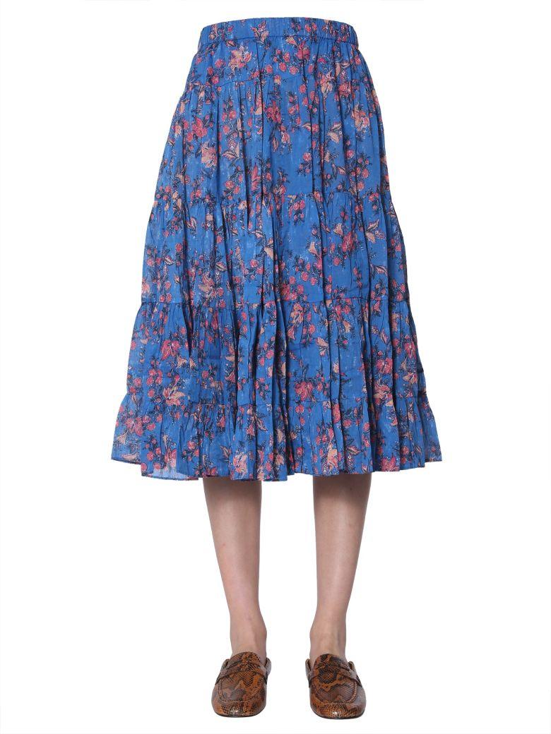 Isabel Marant Étoile Elfa Skirt - BLU