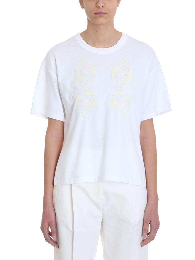 See by Chloé White Cotton T-shirt - white
