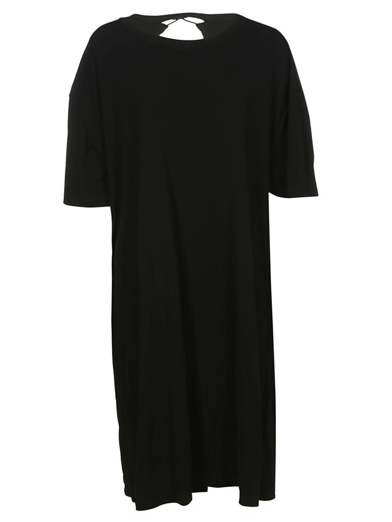 Maison Margiela Midi T-shirt Dress - Black