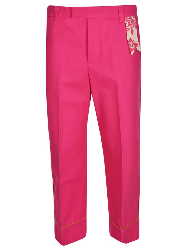 The Gigi Irma Trousers - Fuchsia