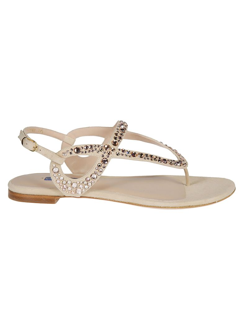 Stuart Weitzman Embellished Sandals - Bambina