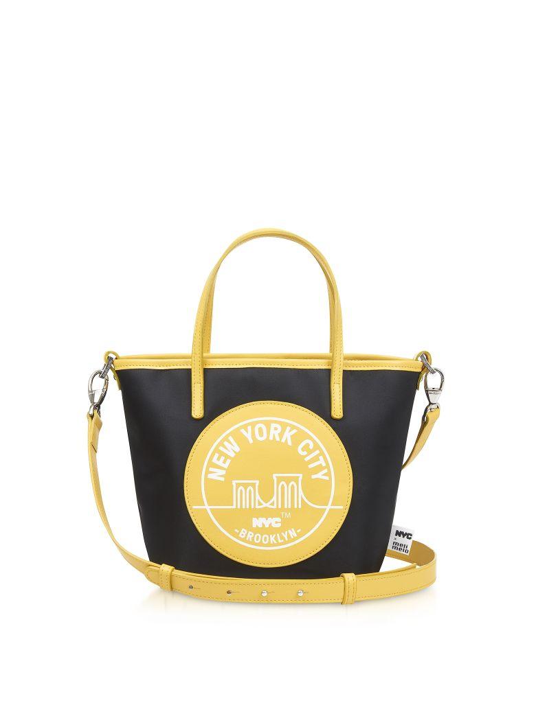 Meli Melo Brooklyn Yellow Paige Mini Tote Bag - Yellow