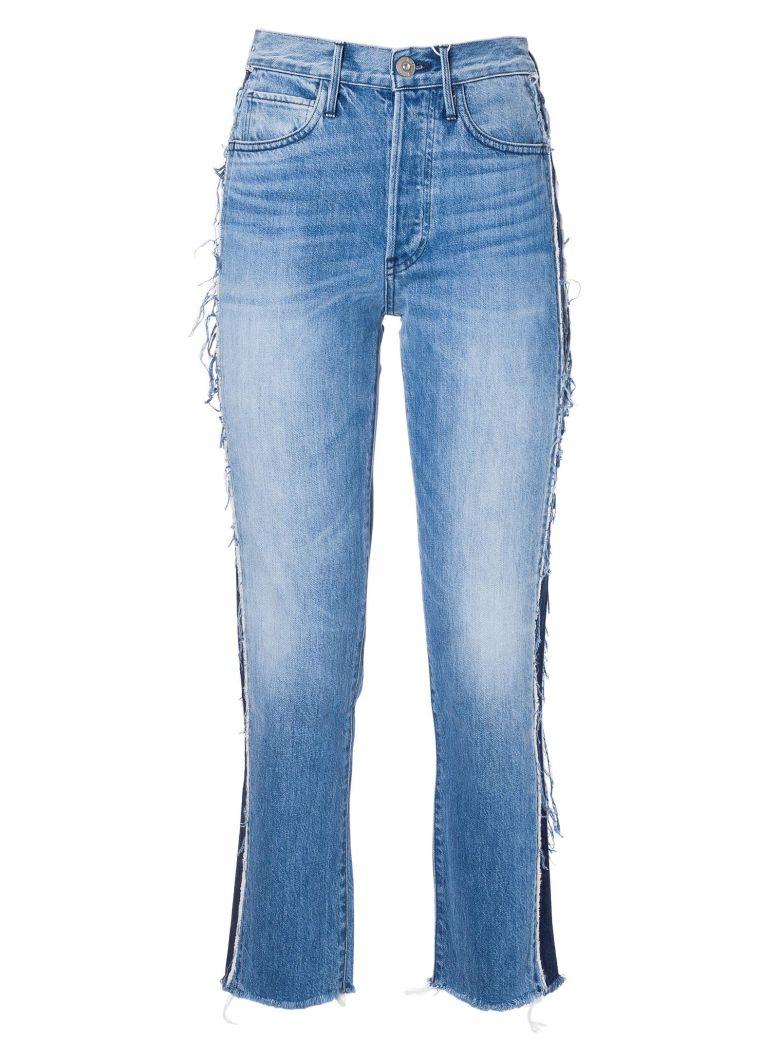 3x1 Frayed Trim Jeans - Lisette