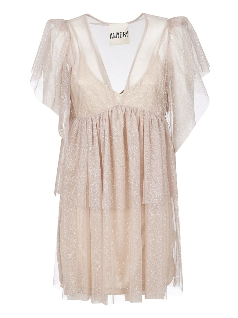 aniye by Glittery Short Dress