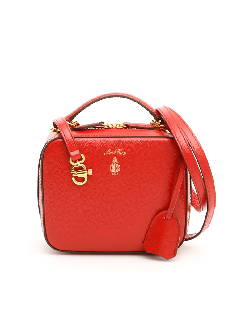 Mark Cross Baby Laura Bag - BRICK RED|Rosso