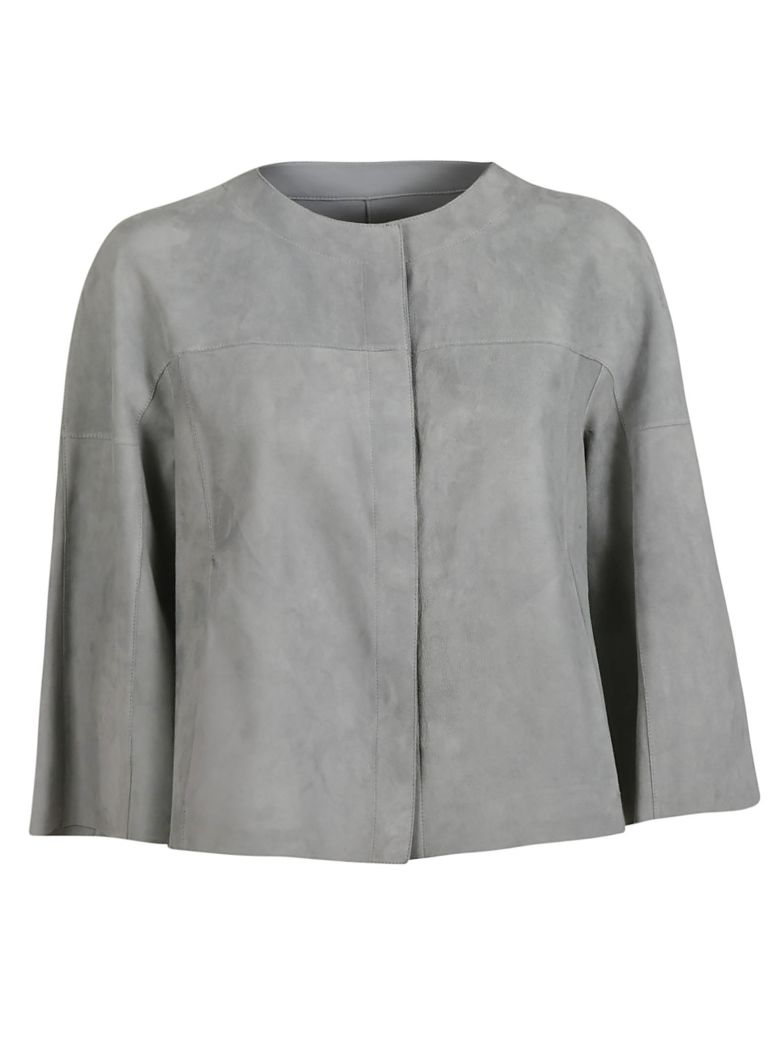 DROMe Cropped Coat - Grey