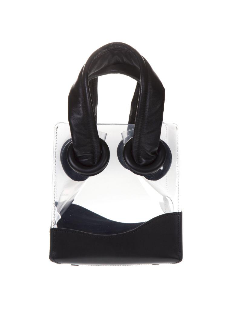 BOYY Deon 19 Trasparent & Black Bag - Black