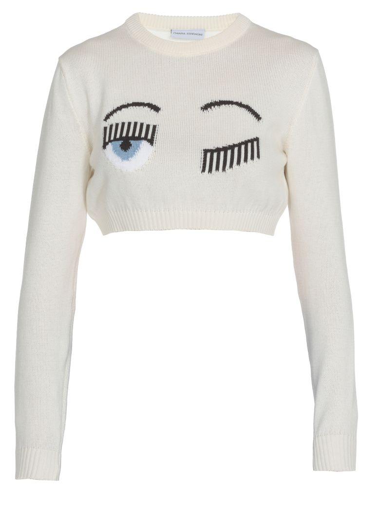 Chiara Ferragni Flirting Sweater - White