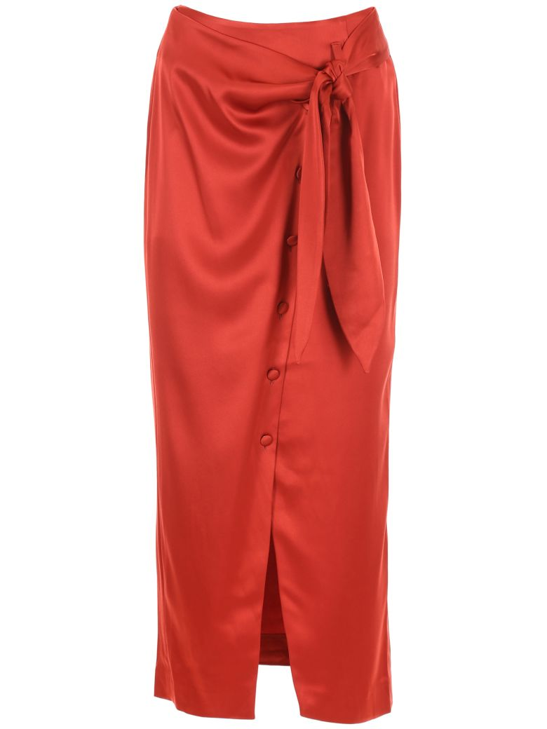 Nanushka Aries Skirt - RED|Rosso
