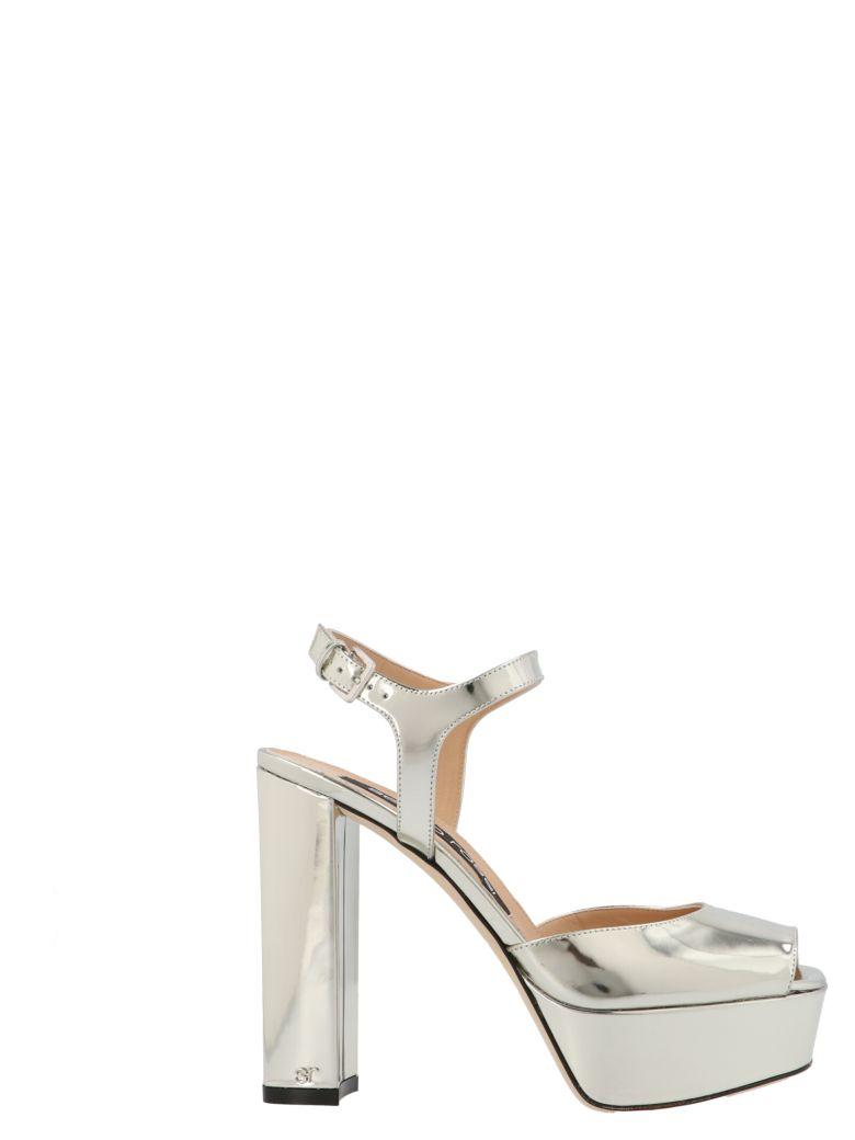 Sergio Rossi 'sr Monica' Shoes - Silver