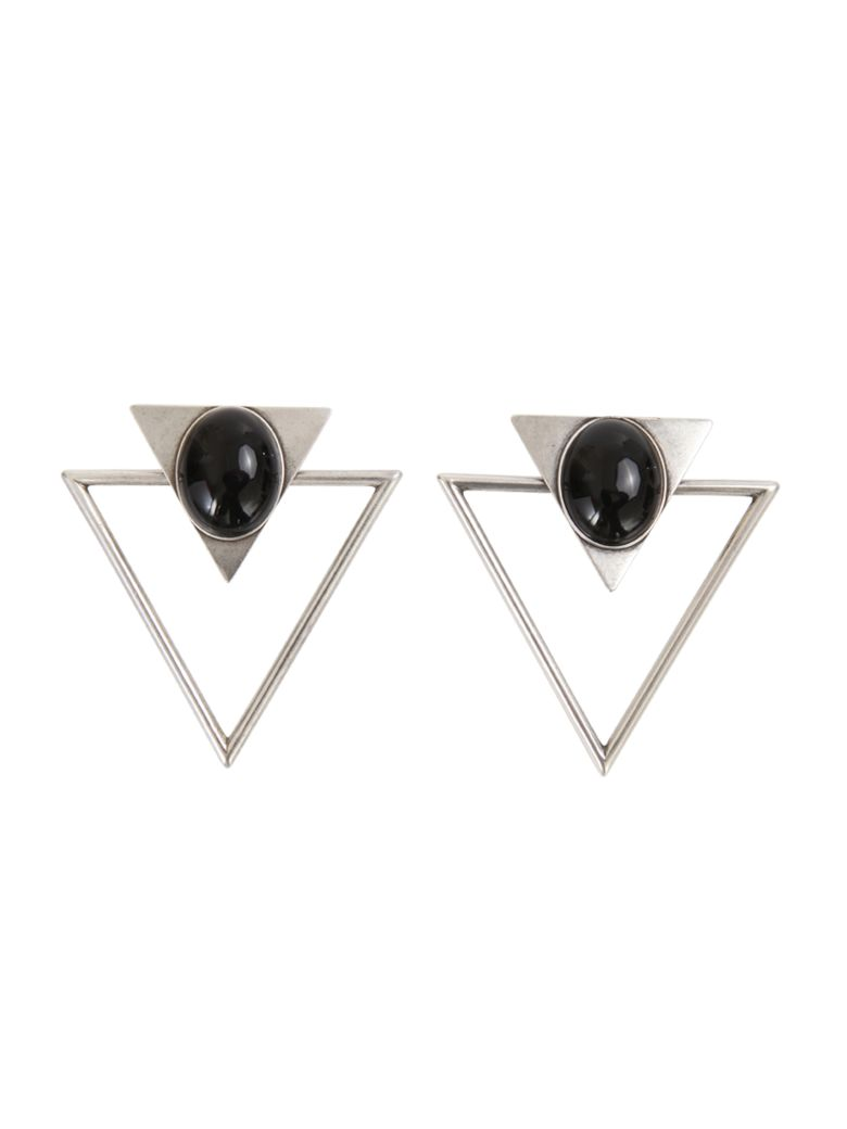 Saint Laurent Earrings - Silver