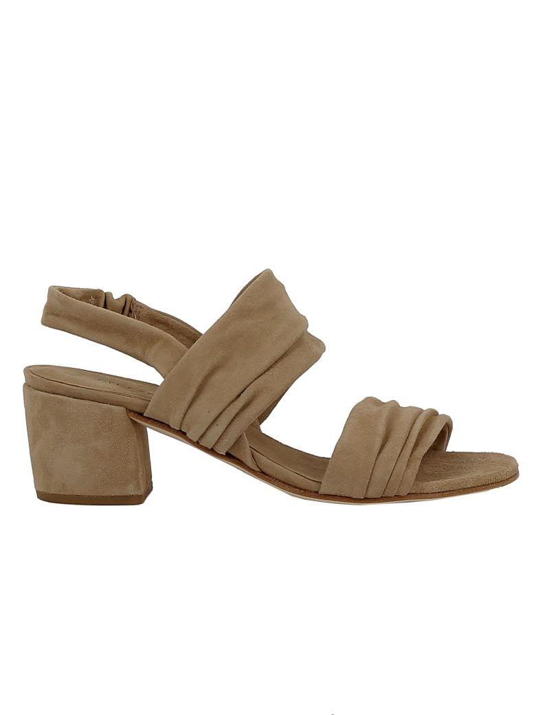 Roberto del Carlo Woman's Beige Suede Sandals - BEIGE