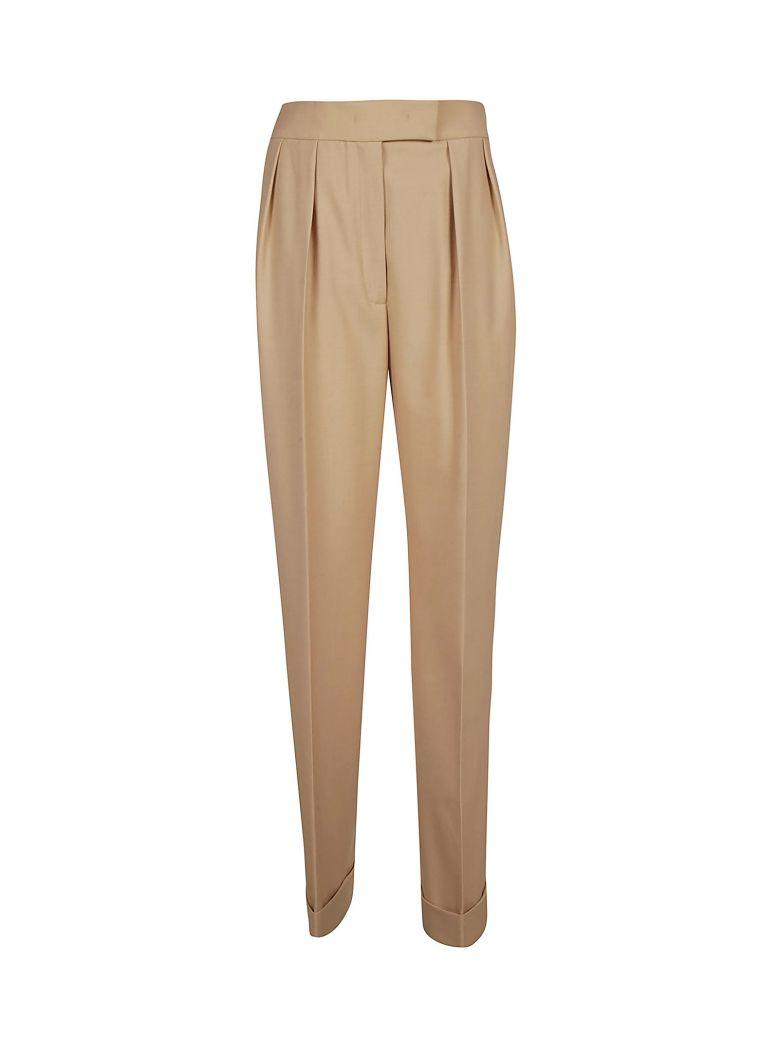 Agnona High-waist Trousers - Beige