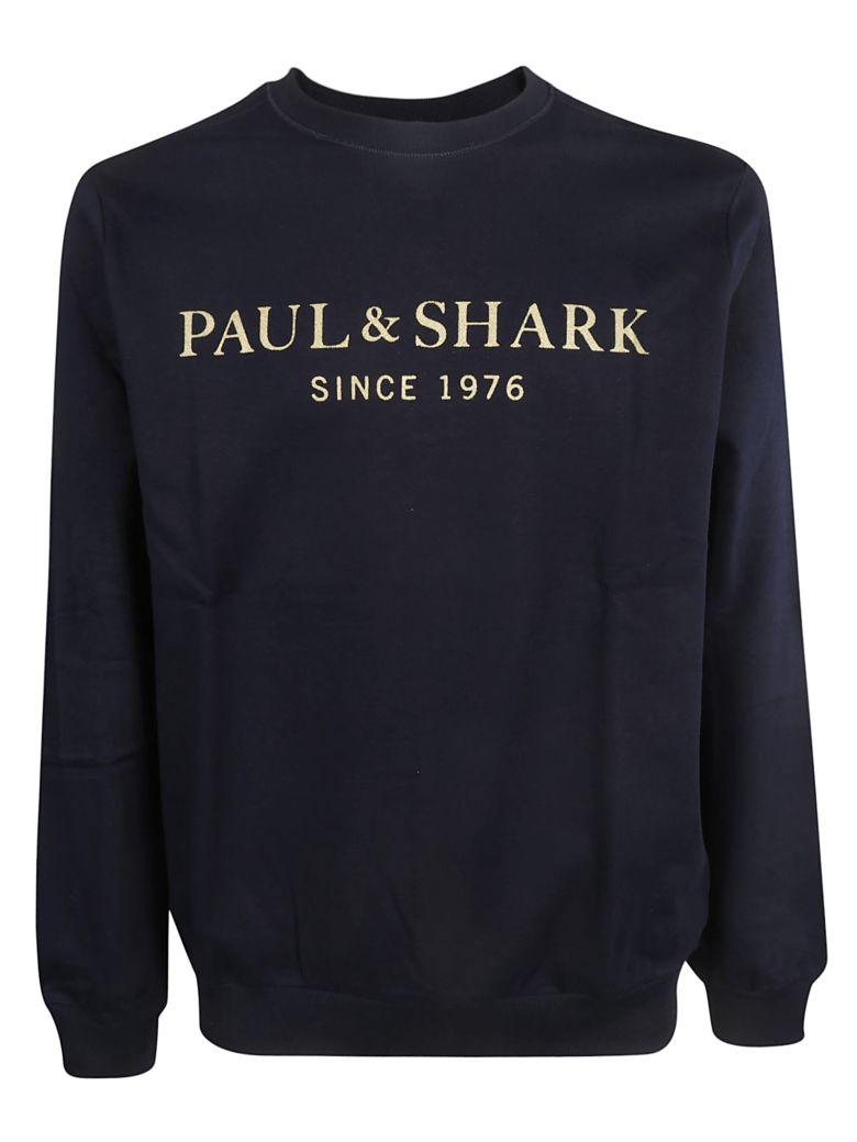 Paul&Shark Paul & Shark Logo Sweatshirt - Blue