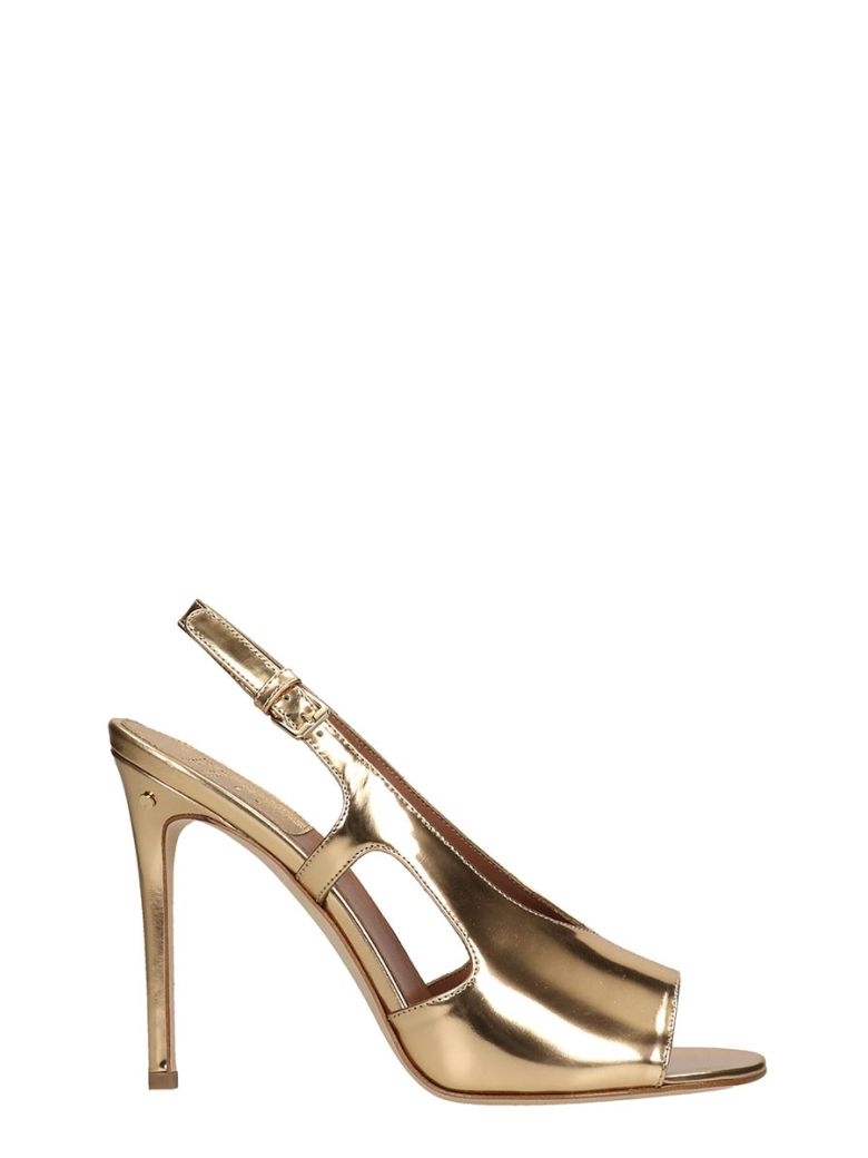 Laurence Dacade Sandals In Gold Leather - gold