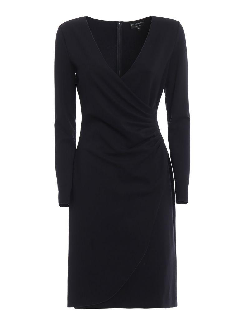 Emporio Armani Wrap Front Dress - Basic