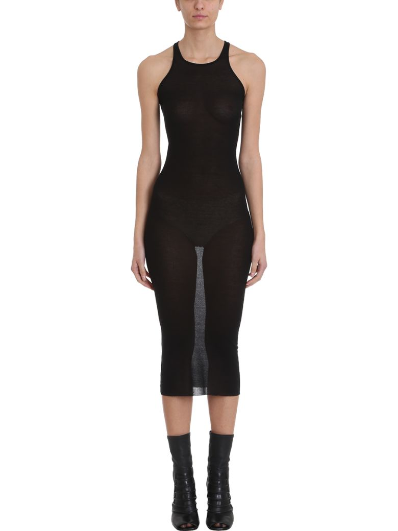 Rick Owens Tank Dress - black