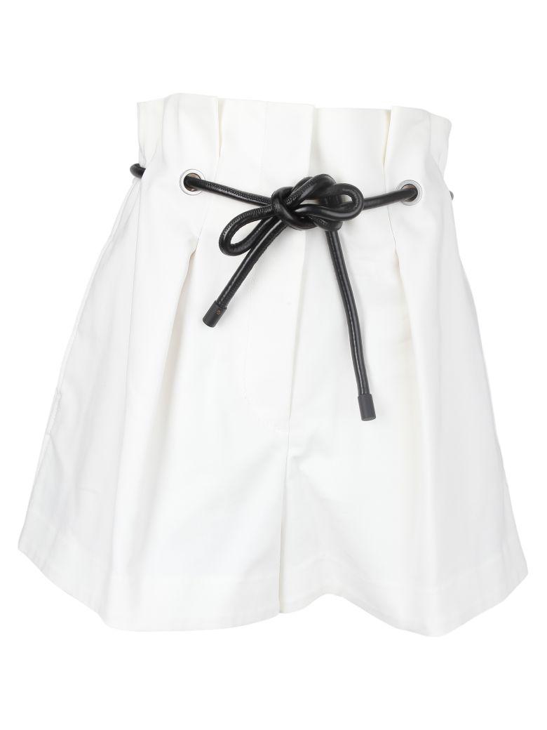 3.1 Phillip Lim Phillip Lim Origami Pleat Shorts - Anant. White