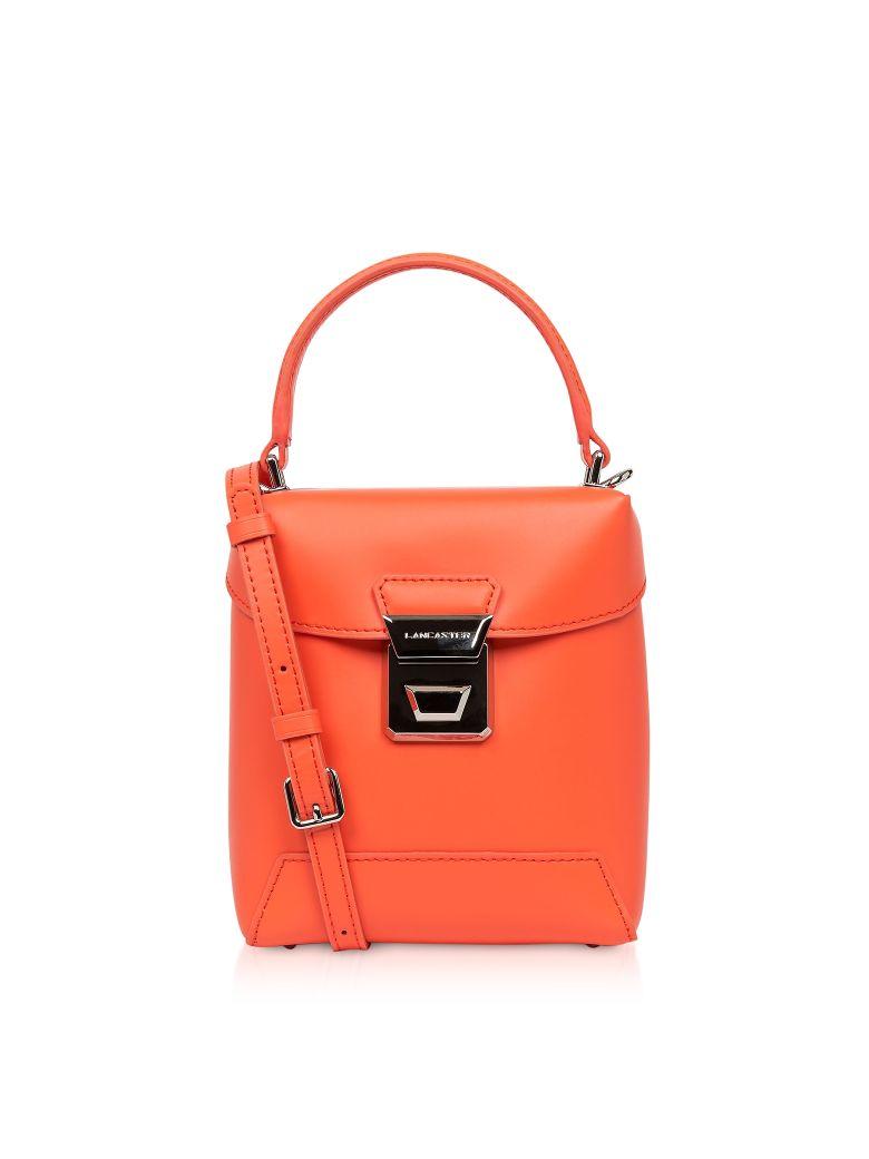 Lancaster Paris Claudia Mini Box Bag - Orange