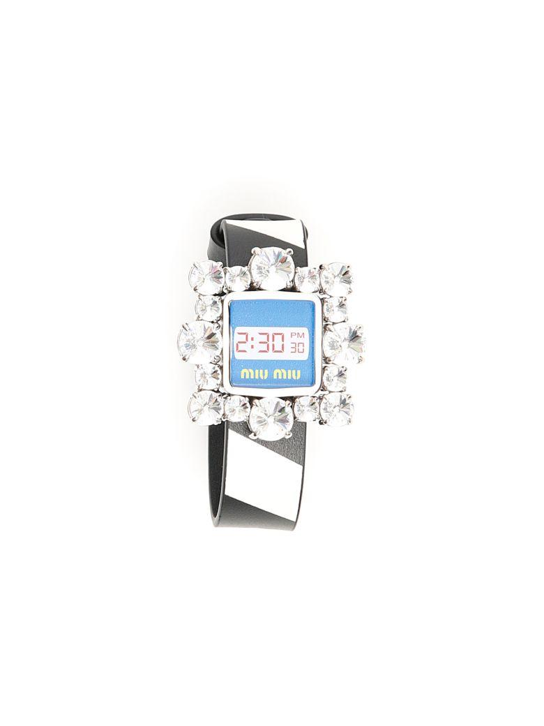Miu Miu Crystal-embellished Bracelet - basic|basic