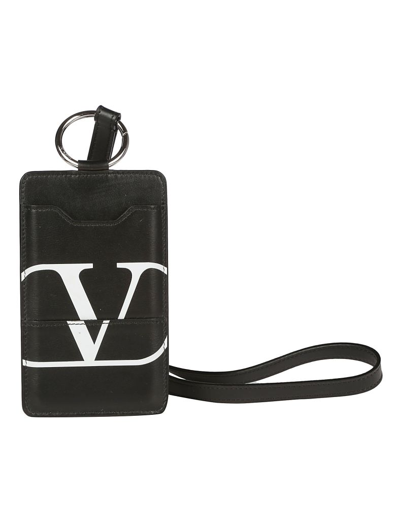 Valentino Garavani Neck Iphone Case - Nero/bianco