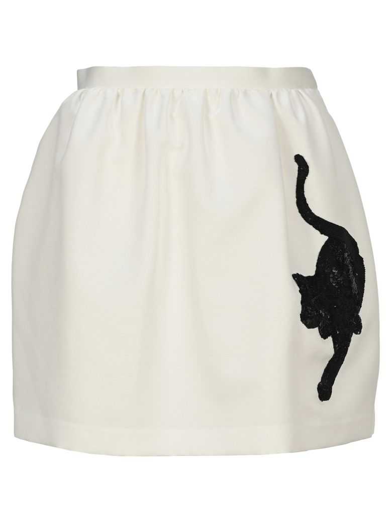 Undercover Jun Takahashi Undercover Cat Skirt - WHITE