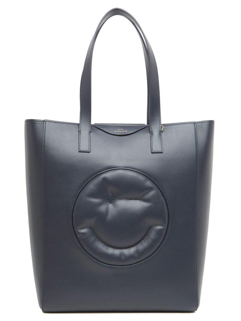 Anya Hindmarch 'chubby Wink' Bag - Blue