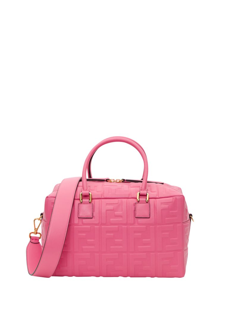 Fendi Small Boston Bag - Pink