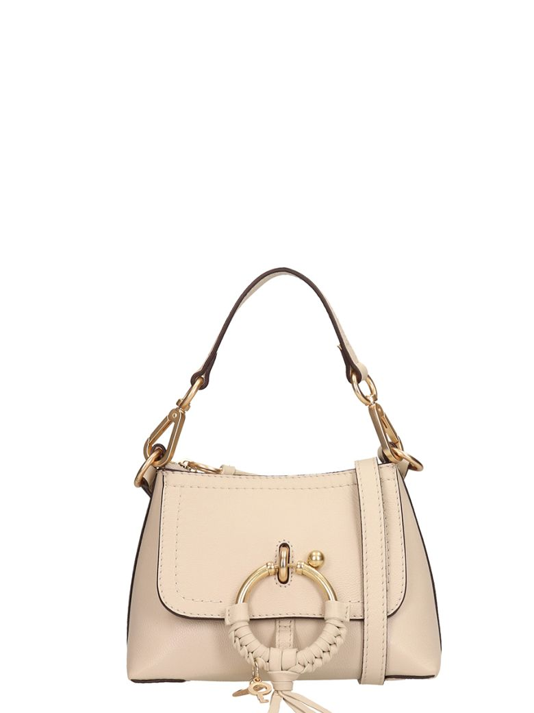 See by Chloé Beige Leather And Suede Bag - beige