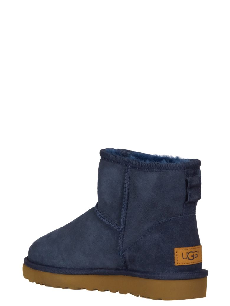 UGG Mini Classic Ankle Boots - Blue