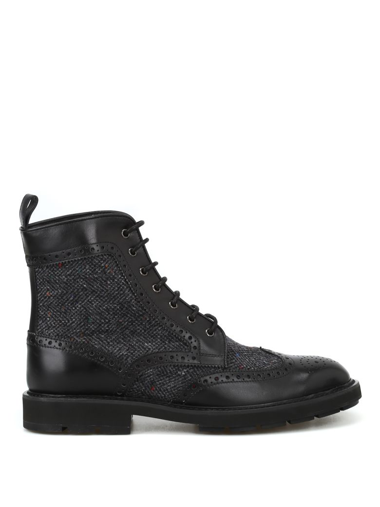 Tod's Ankle Boots In Leather - Basic