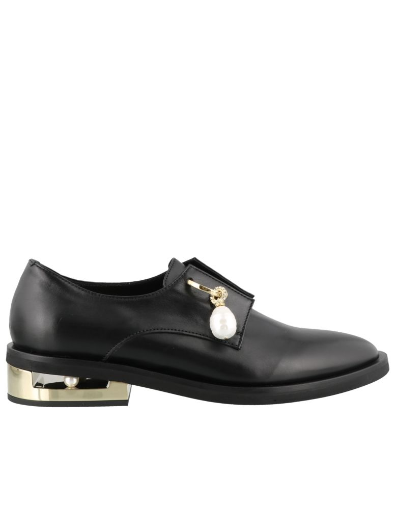 Coliac Kory Laced Up Shoes - Black